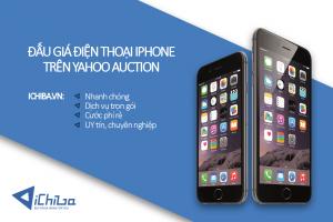 Đấu giá điện thoại Iphone trên Yahoo Auction