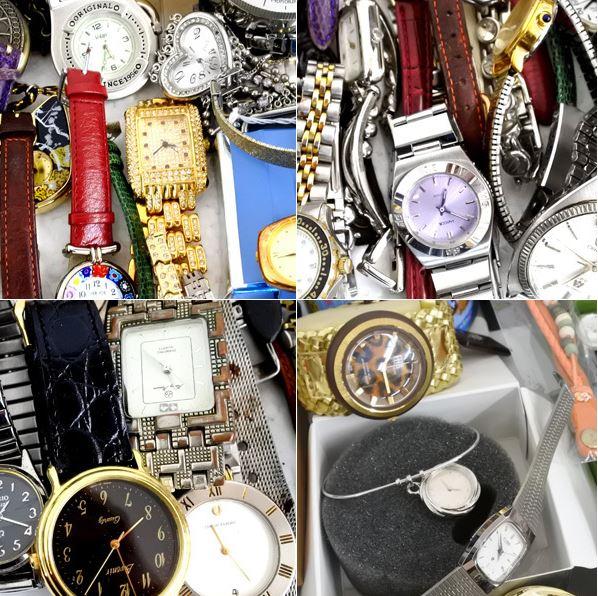 Đấu giá lô đồng hồ Nhật cũ trên Yahoo Auction